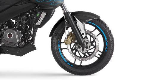 nueva moto bajaj rouser ns 200 abs fi  lider lidermoto