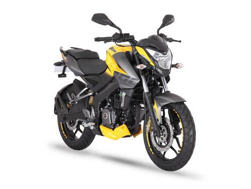 nueva moto bajaj rouser ns 200 abs fi lidermoto