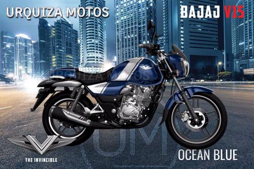 nueva moto bajaj v15 vikrant 150 hasta 50 cuotas 0km