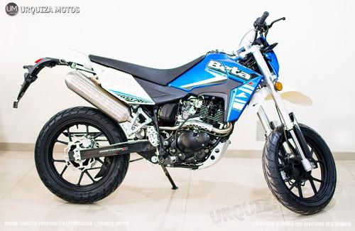 nueva moto beta motard 2.0 m4 200 12 y 18 cuotas 0km