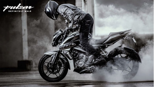 nueva moto calle  bajaj rouser ns 200 abs fi 2018