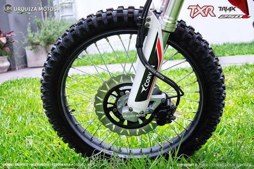 nueva moto corven txr 250 l promocion 0km urquiza motos