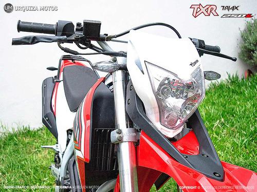 nueva moto corven txr 250 l triax 0km urquiza motos
