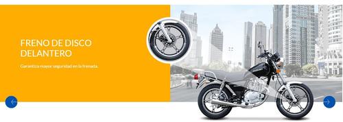 nueva moto custom suzuki gn 125 f 2018 blanca lanzamiento