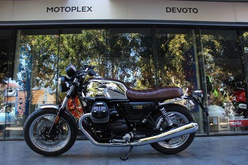 nueva moto guzzi v7 iii aniversario 0 km - motoplex devoto