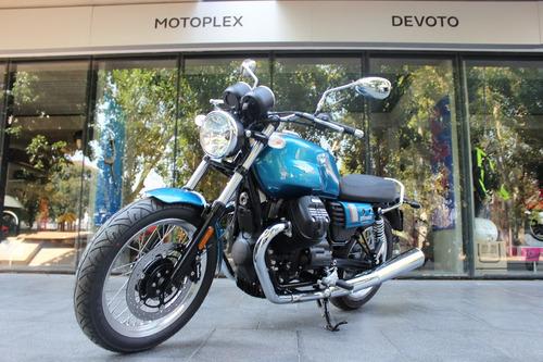 nueva moto guzzi  v7 iii special retro 0 km motoplex devoto