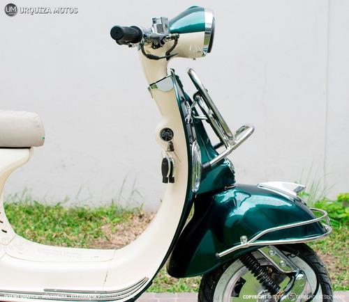 nueva moto scooter zanella mod 150 alarma vintage 0km baul