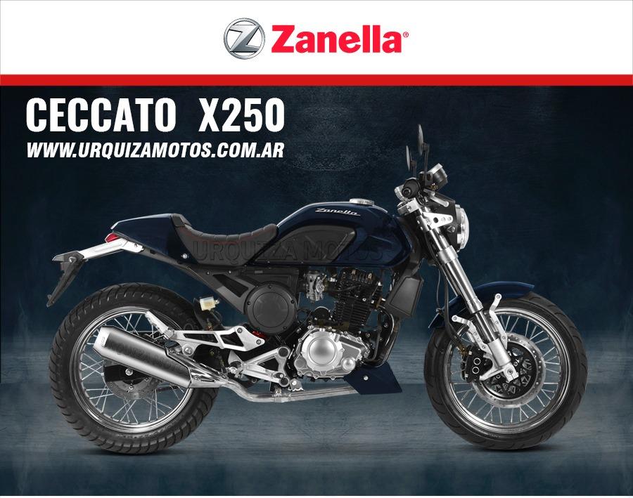 nueva moto zanella ceccato 250 x x250 0km urquiza motos en mercado libre. Black Bedroom Furniture Sets. Home Design Ideas