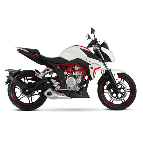 nueva moto zanella rz3 naked rz 3 0km urquiza motos blanco