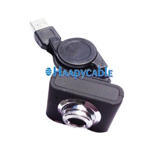 nueva negro usb webcam cam hd cámara web con micrófono