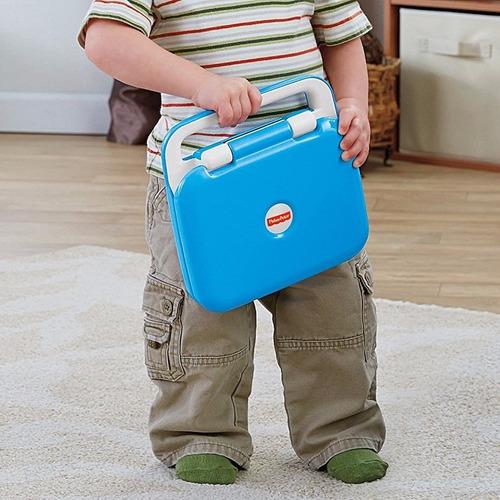 nueva netbook electronica juguete fisher price para bebe