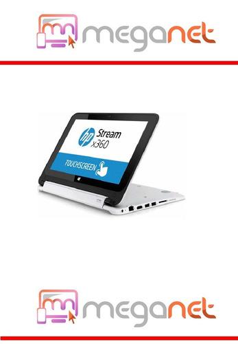nueva netbook hp x360 intel turbo 2gb 32gb 11.3 touch win 10