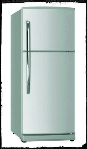 nueva nevera con congelador de 16 pies en su caja