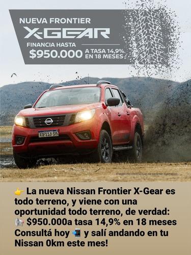nueva nissan x-grear 4x4 at