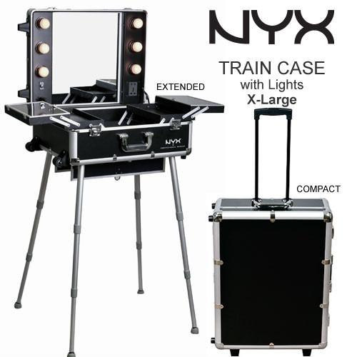 Nueva Nyx Makeup Estaci 243 N De Maquillaje Con Luces Malet 237 N