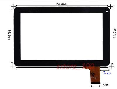 nueva pantalla táctil digitalizador para kocaso mediados m91