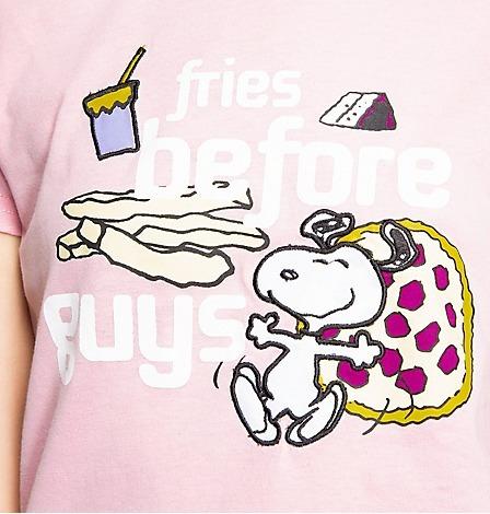 nueva!! pijama juvenil de snoopy. marca peanuts
