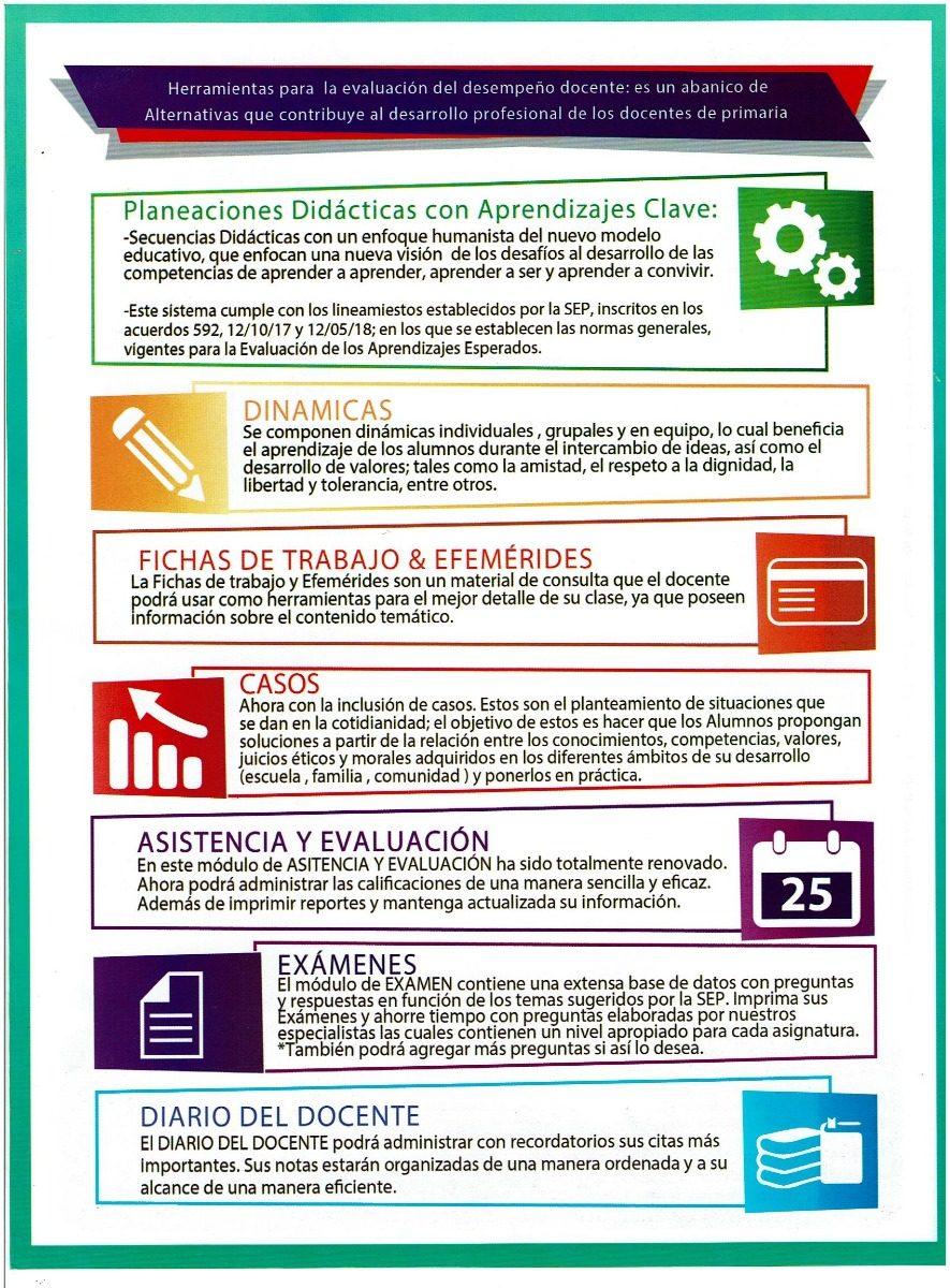 Nueva Planeacion Secundaria Plus Aprendizajes Clave