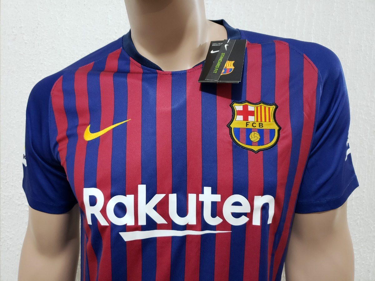 38486bb4ebc3b nueva playera jersey barcelona local 2018-2019 messi suarez. Cargando zoom.
