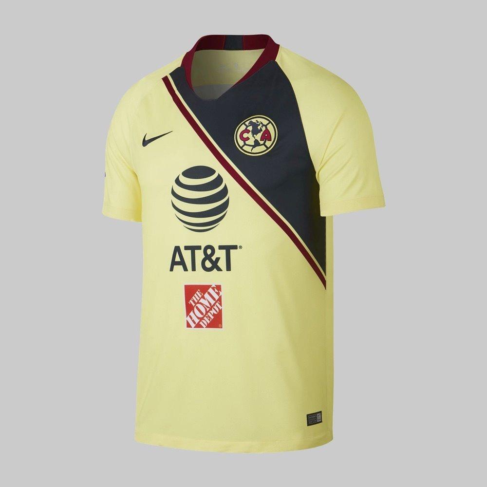f3fa2ff45b3d0 Nueva Playera Jersey De Águilas Del America 2018-2019 Local ...