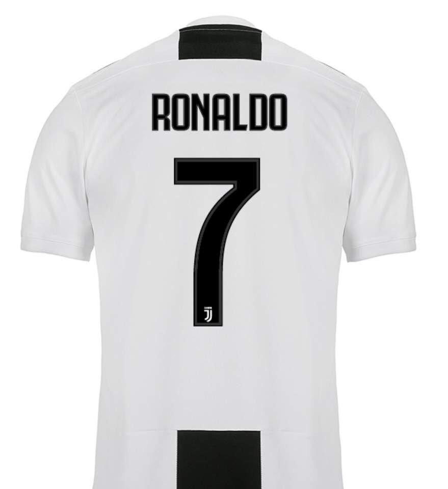 nueva playera jersey nombre ronaldo  7 juventus 2018-2019. Cargando zoom. 7b65171eafe78