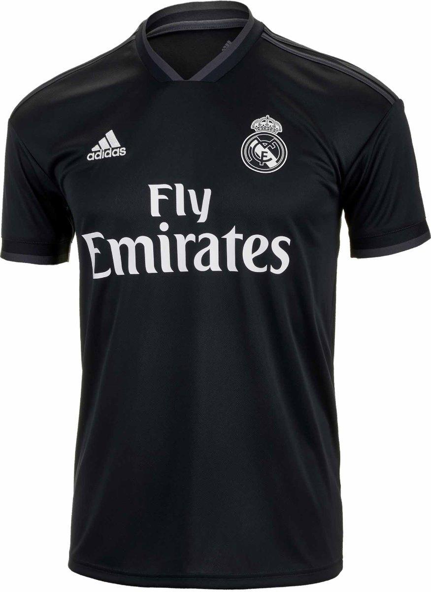 cc11adba9255a Nueva Playera Jersey Real Madrid Gris 2018-2019 -   549.00 en ...