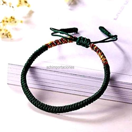 nueva pulsera tibetana de la suerte - negra -