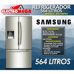 Nueva Refrigeradora Samsung 564 L French Door Croma Rf67