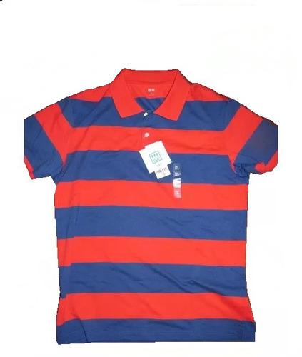 nueva remera chomba uniqlo nueva xl roja azul