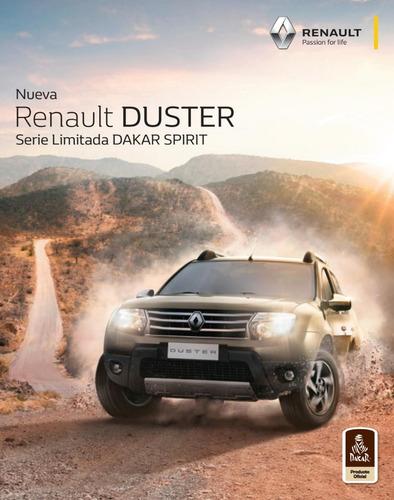 nueva renault duster 2.0 4x4 dakar oferta$432000-ml