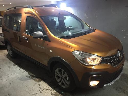 nueva renault kangoo stepway nafta o diesel full 0km 2019 jl