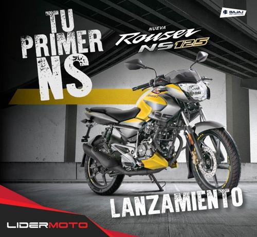nueva rouser ns 125 única frenos cbs lidermoto quilmes !