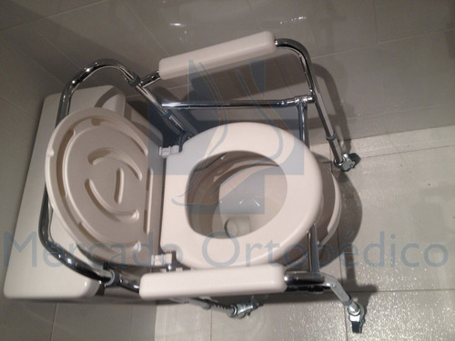 nueva silla de baño pato blanca, ayuda sanitaria oferta
