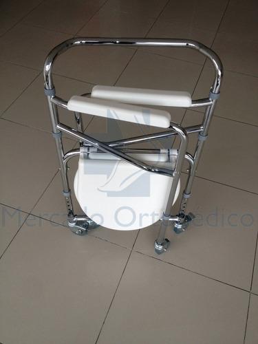 nueva: silla de baño pato blanca, ayuda sanitaria oferta