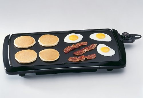 nueva superficie presto cool touch griddle premium antiadher