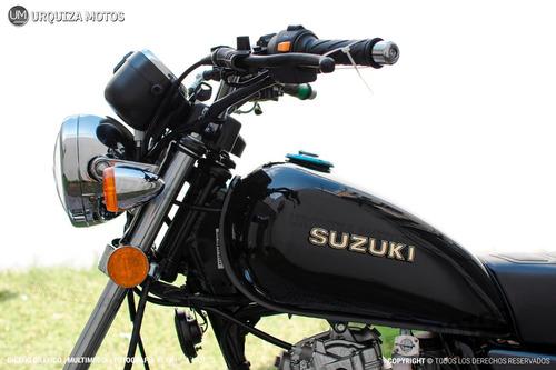 nueva suzuki gn 125 f 0km 2018 moto custom cafe racer um