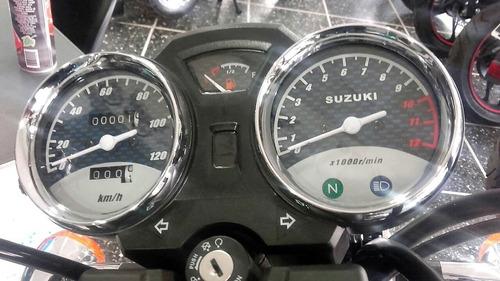nueva suzuki gn 125 f cafe racer tracker bobber