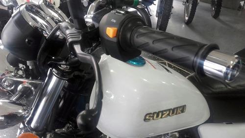 nueva suzuki gn 125 f tipo custom cafe racer o tracker