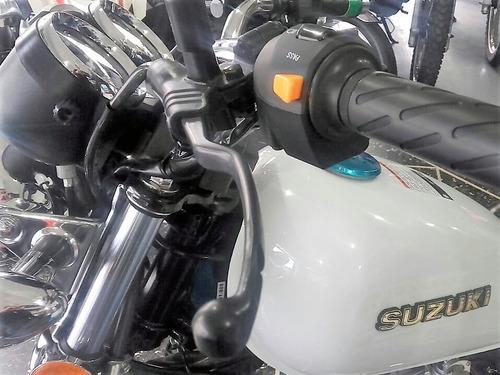 nueva suzuki gn 125f compensador de vibraciones de manubrio