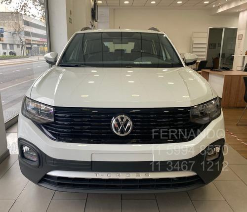 nueva t cross trendline 0km manual volkswagen 2020 vw 1.6 x3