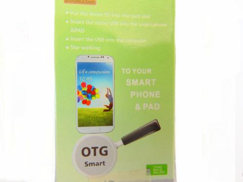nueva tecnologia lector de memoria otg para tu celular