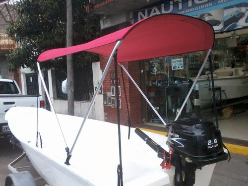 nueva toldilla curva 2016  original  caiman 420   ngp