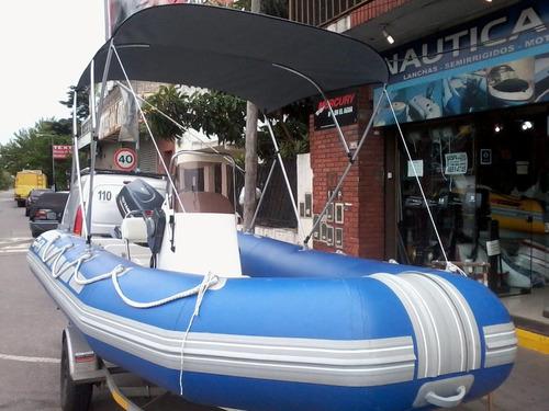 nueva - toldilla universal - semirrigido  nautica gral paz
