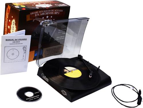 nueva tornamesa tocadiscos digitaliza tus discos lp  a mp3
