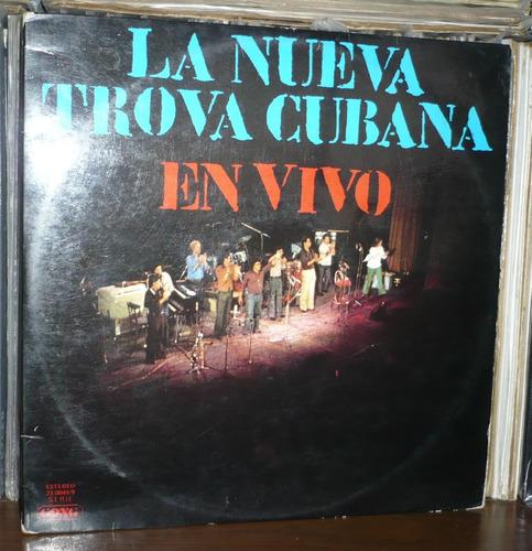 nueva trova cubana en vivo lp pablo milanes perez s gonzalez