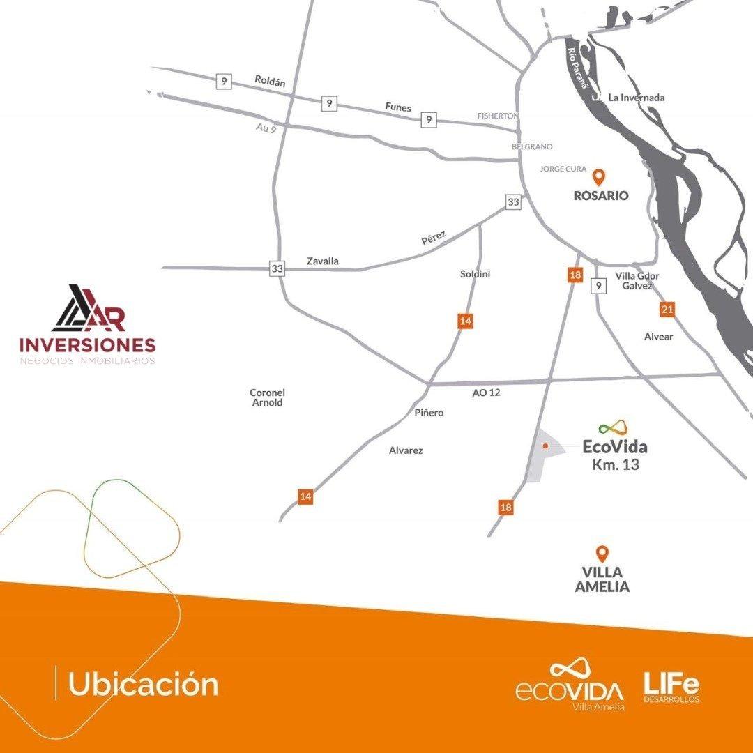 nueva ubanización sobre ruta 18 * ecovida * lote financiado en pesos!!!
