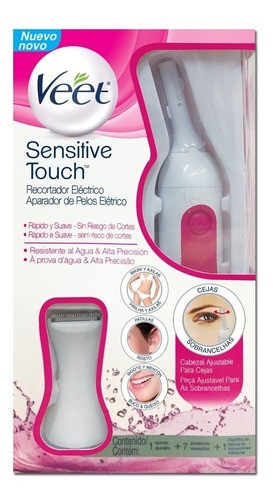nueva veet sensitive touch depiladora recortadora electrica