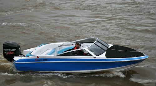 nueva vision 200  con evinrude  e-tec 150 hp - la mas rapida