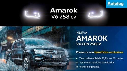 nueva volkswagen amarok 3.0 v6 comfortline 258cv 0 km mz #a7