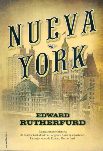 nueva york / edward rutherfurd (envíos)